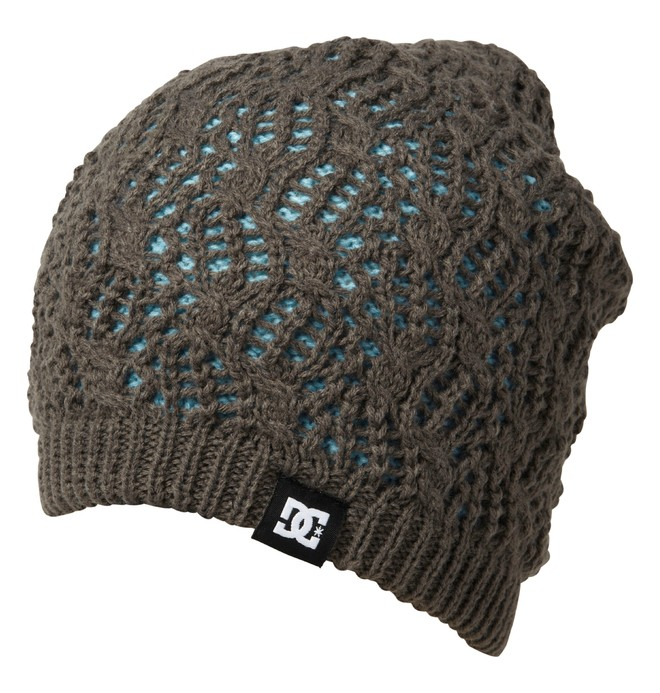 0 Women's Zina Reversible Beanie  ADJHA00013 DC Shoes