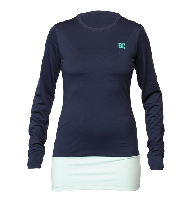0 Women's Galena Base Layer Long Sleve Tee  ADJKT00022 DC Shoes