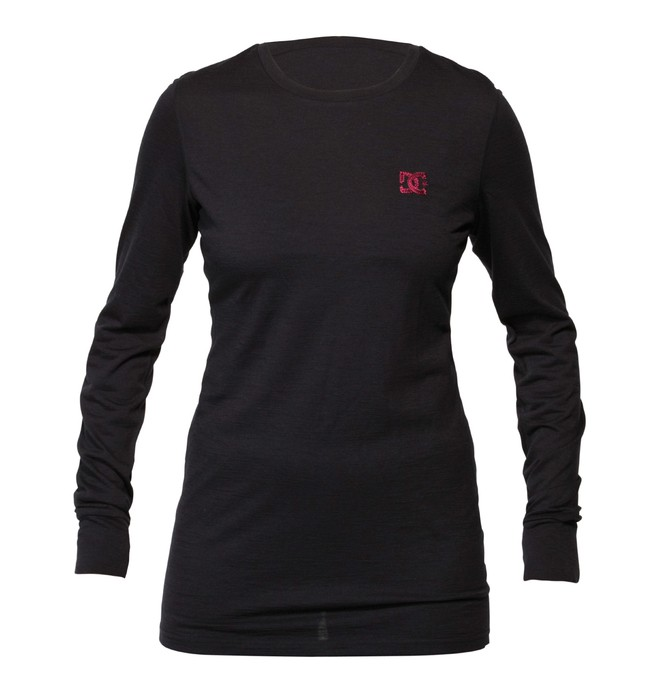 0 Women's Comfy Base Layer Long Sleve Tee  ADJKT00023 DC Shoes