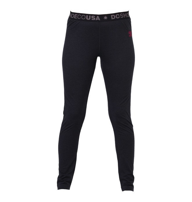 0 Women's Cozy Base Layer Pant Black ADJLW00002 DC Shoes