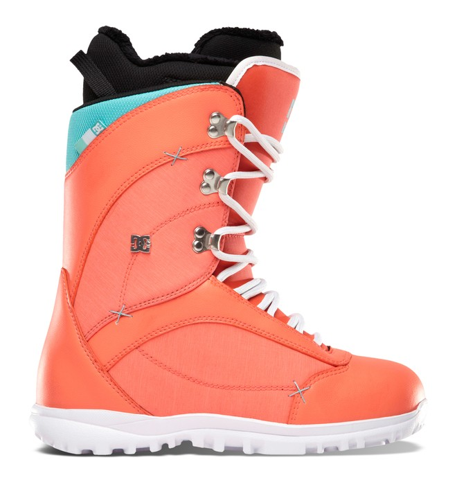 0 Women's Karma Snow Boots Pink ADJO200002 DC Shoes