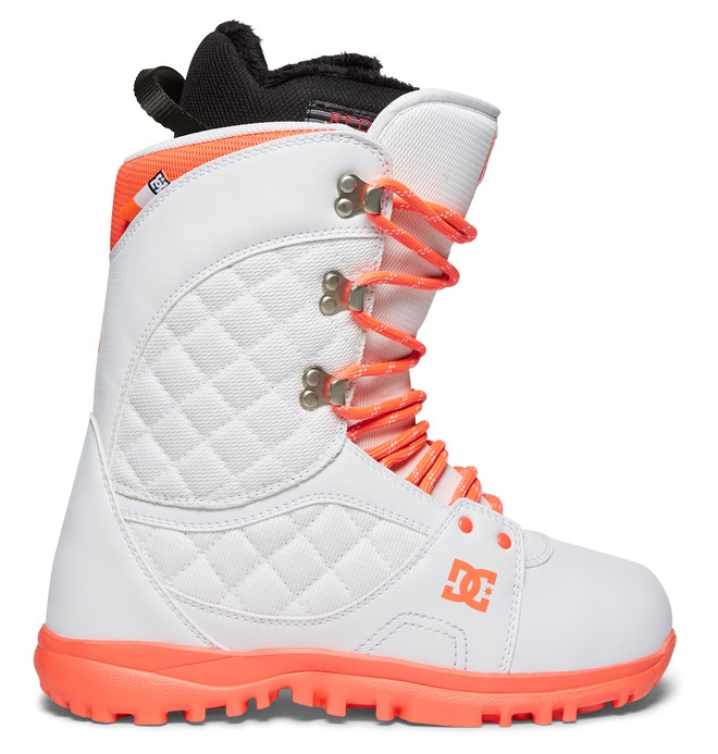 0 Karma - Lace-Up Snowboard Boots White ADJO200011 DC Shoes