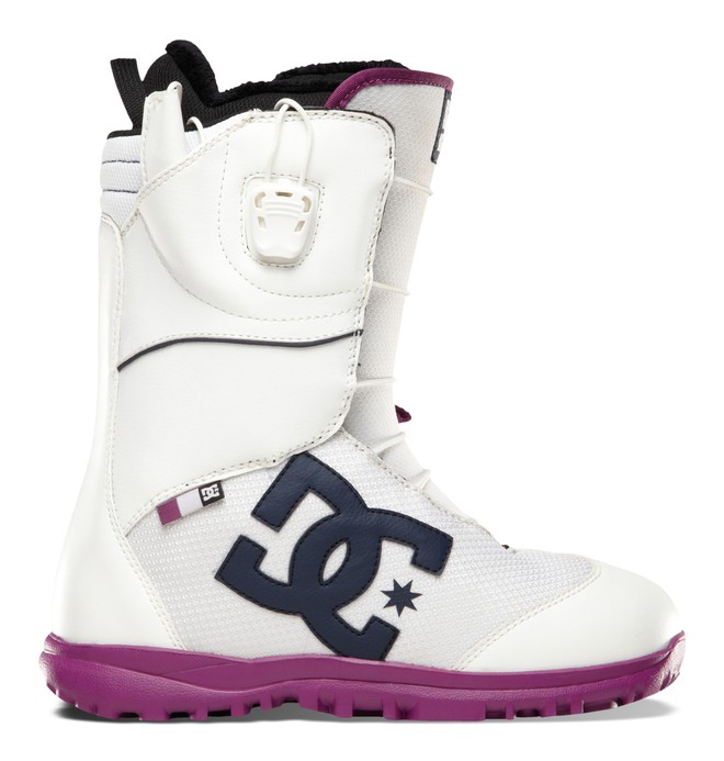 0 Women's Avour Snow Boots White ADJO300001 DC Shoes
