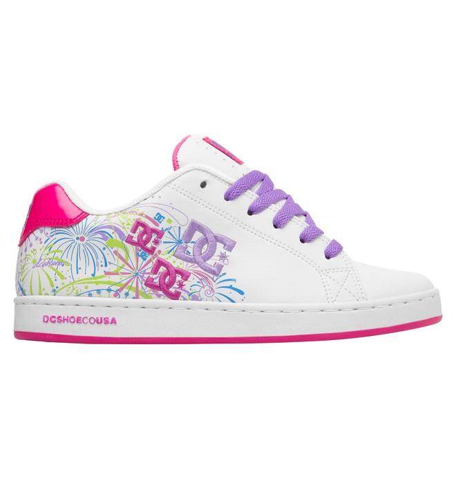 0 Women's Pixie Fireworks Shoes White ADJS100003 DC Shoes