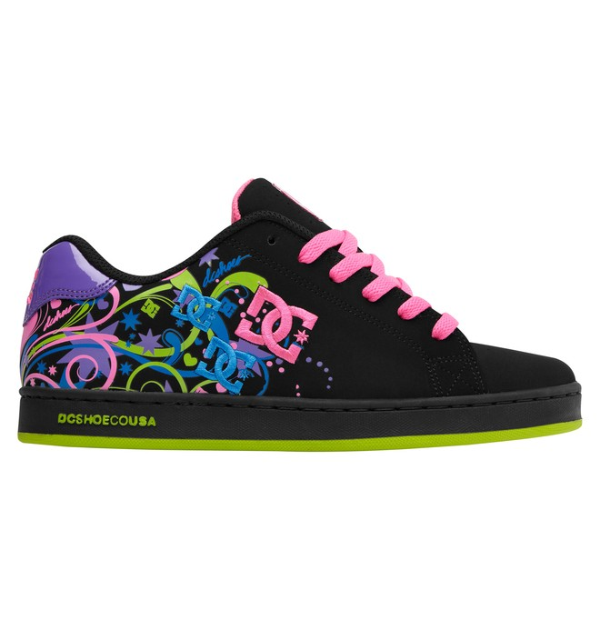 0 Women's Pixie Starburst Shoes Black ADJS100005 DC Shoes