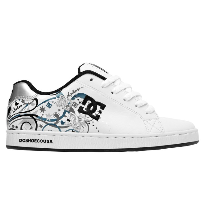 0 Women's Pixie Starburst Shoes White ADJS100005 DC Shoes