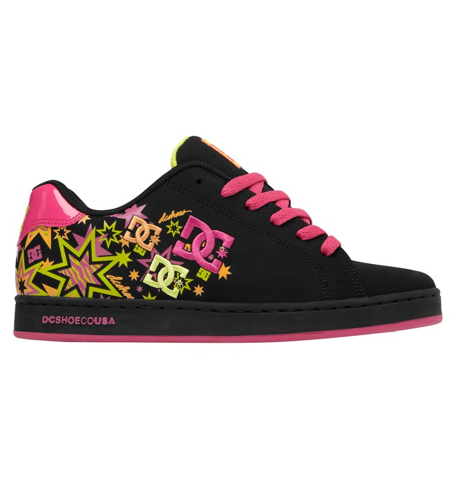 0 Women's Pixie Zebrastarz Shoes Black ADJS100013 DC Shoes