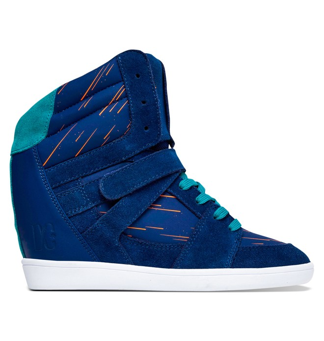 0 Women's Mirage Mid SE Shoes Blue ADJS100047 DC Shoes