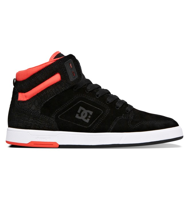 0 Women's Nyjah High Top Shoes Black ADJS100048 DC Shoes