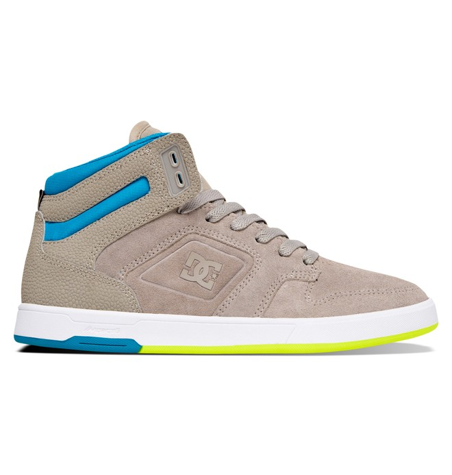 0 Women's Nyjah High Top Shoes Grey ADJS100048 DC Shoes