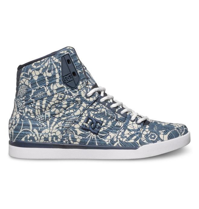 0 Women's Rebound Slim High TX Se Blue ADJS100063 DC Shoes