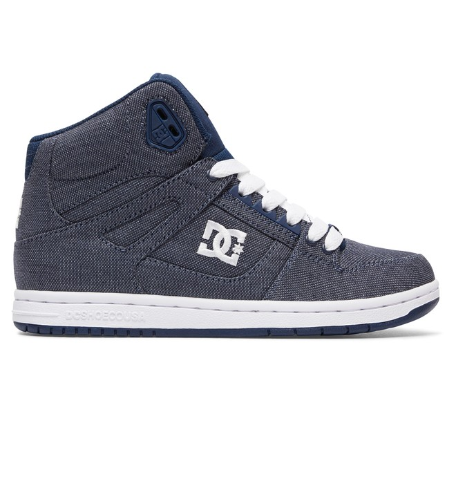 0 Rebound High TX SE - High-Top Shoes Blue ADJS100065 DC Shoes