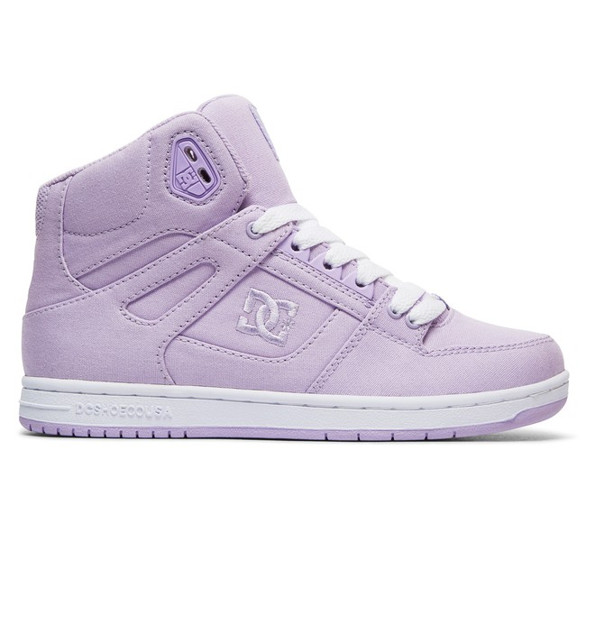 0 Pure TX - High-Top Shoes Purple ADJS100114 DC Shoes