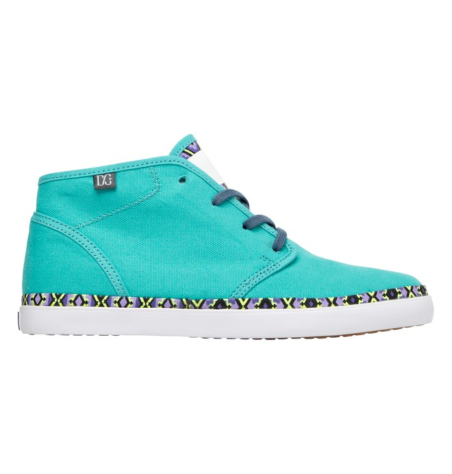 0 Women's Studio Mid LTZ Shoes Green ADJS300010 DC Shoes