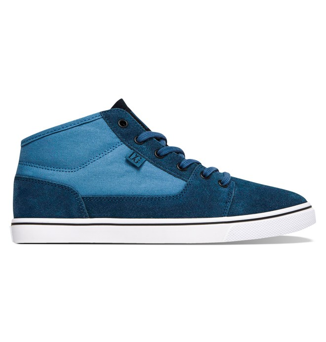 0 Tonik Mid W Shoes Blue ADJS300048 DC Shoes