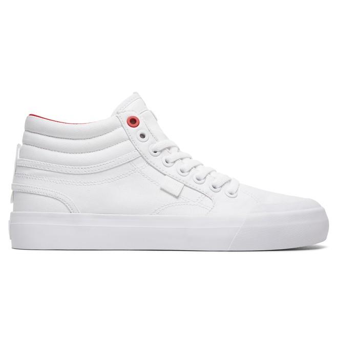 0 Women's Evan Hi TX SE High Top Shoes White ADJS300164 DC Shoes