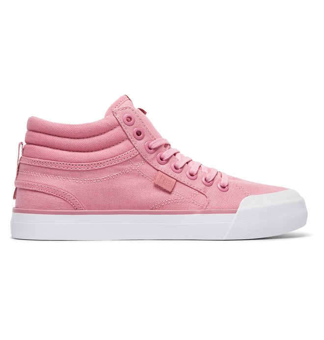 0 Women's Evan Hi TX Shoes Pink ADJS300178 DC Shoes