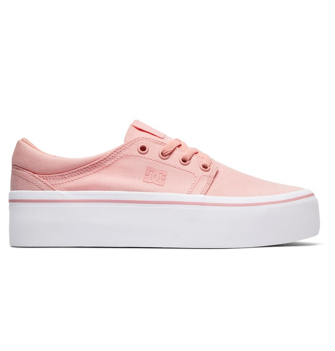 0 Trase Platform TX - Shoes Pink ADJS300184 DC Shoes