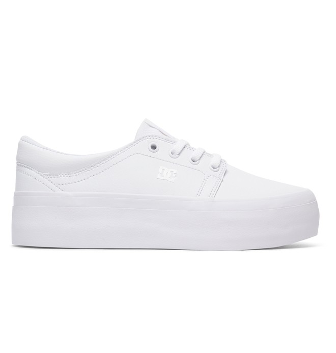 0 Trase Platform - Chaussures Blanc ADJS300195 DC Shoes