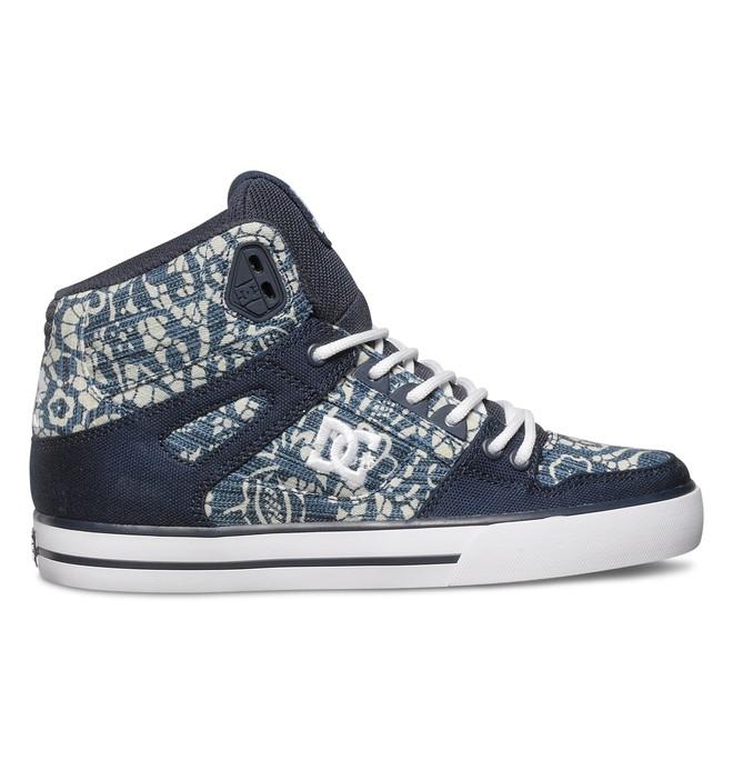 0 Women's Spartan High WC TX SE Shoes Blue ADJS400007 DC Shoes