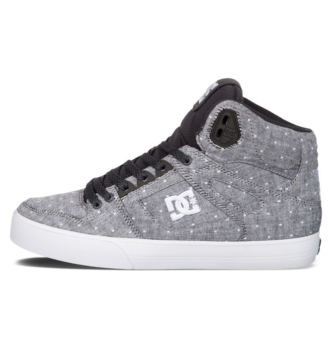 0 Women's Spartan High WC TX SE Shoes Grey ADJS400007 DC Shoes