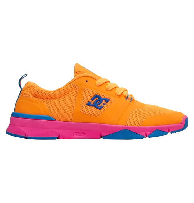 0 Women's Unilite Flex Trainer Shoes Orange ADJS700004 DC Shoes