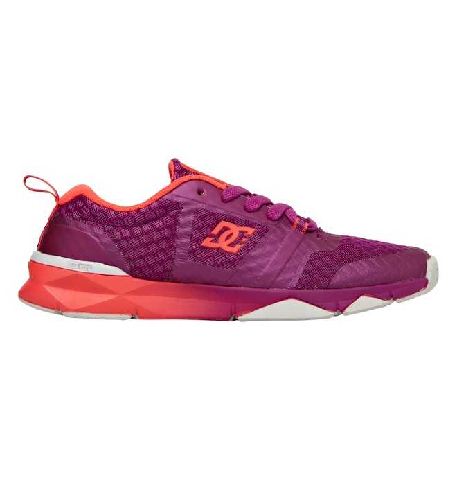 0 Women's Unilite Flex Trainer Shoes Purple ADJS700004 DC Shoes