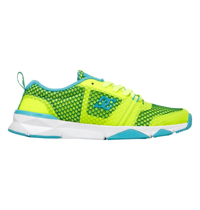 0 Women's Unilite Flex Trainer Shoes Yellow ADJS700004 DC Shoes