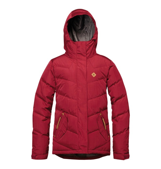 0 Women's Liberty Snowboard Jacket Red ADJTJ00001 DC Shoes
