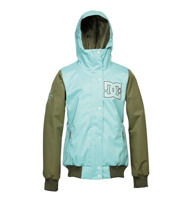 0 Women's Squad Snowboard Jacket Blue ADJTJ00003 DC Shoes