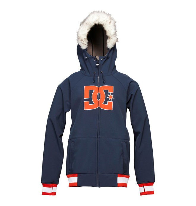 0 Women's Gamut Snowboard Jacket Blue ADJTJ00006 DC Shoes