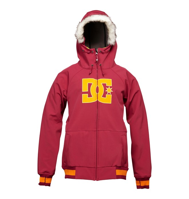 0 Women's Gamut Snowboard Jacket Red ADJTJ00006 DC Shoes
