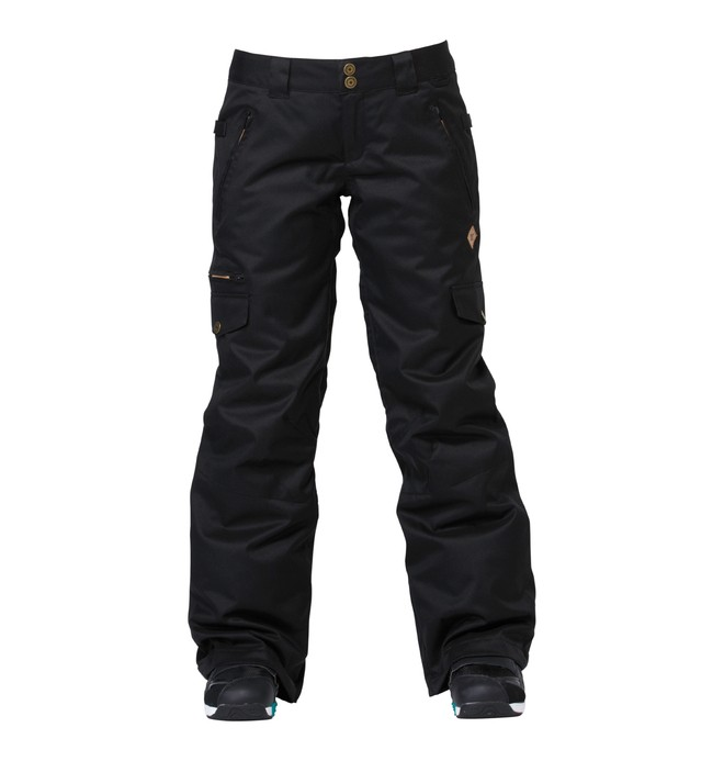 0 Women's Scarlett Snowboard Pants Black ADJTP00002 DC Shoes