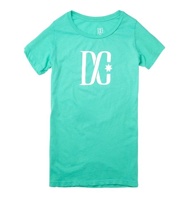 0 TStar SS C Tee Green ADJZT00063 DC Shoes