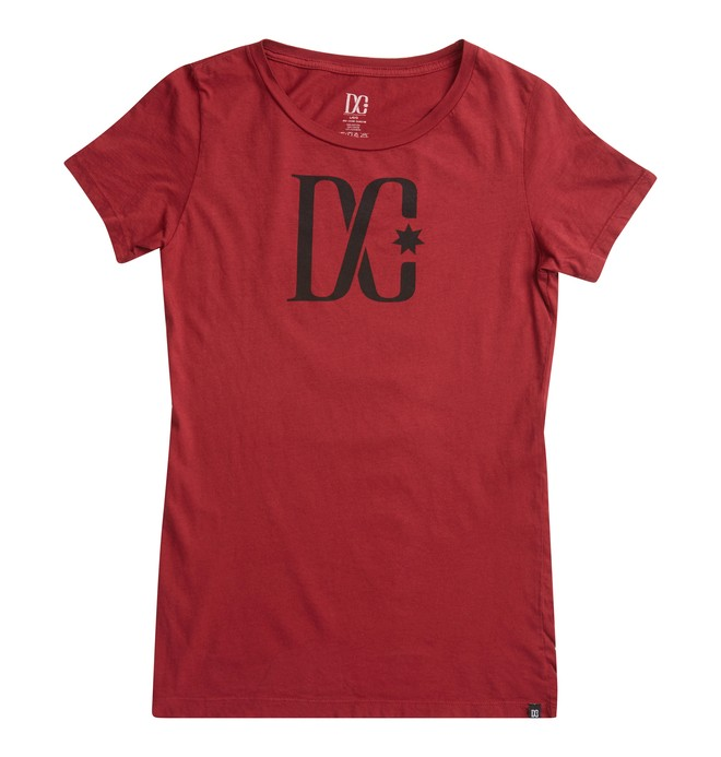 0 TStar SS C Tee Red ADJZT00063 DC Shoes