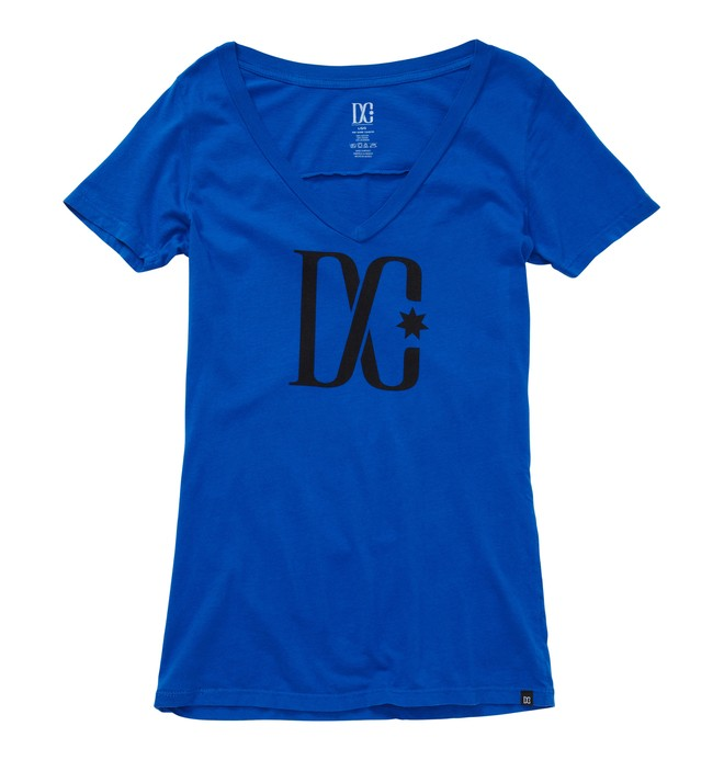 0 Women's T-Star V-Neck Shirt  ADJZT00064 DC Shoes