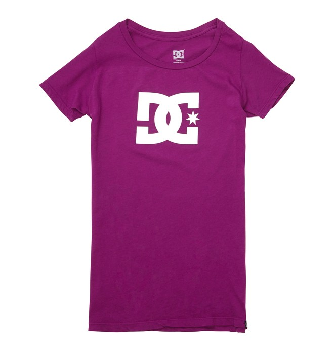 0 TStar E SS Tee Purple ADJZT00065 DC Shoes