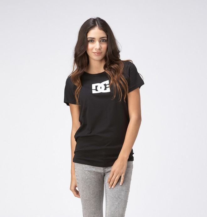 0 TStar E SS Tee Black ADJZT00065 DC Shoes