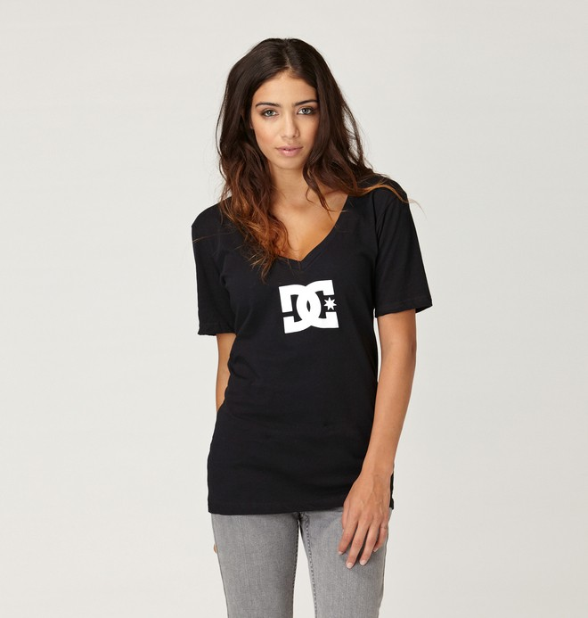 0 TStar E V Tee Black ADJZT00066 DC Shoes