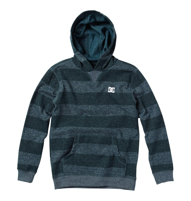 0 Kid's Rebel Stripe Sweatshirt  ADKFT00007 DC Shoes