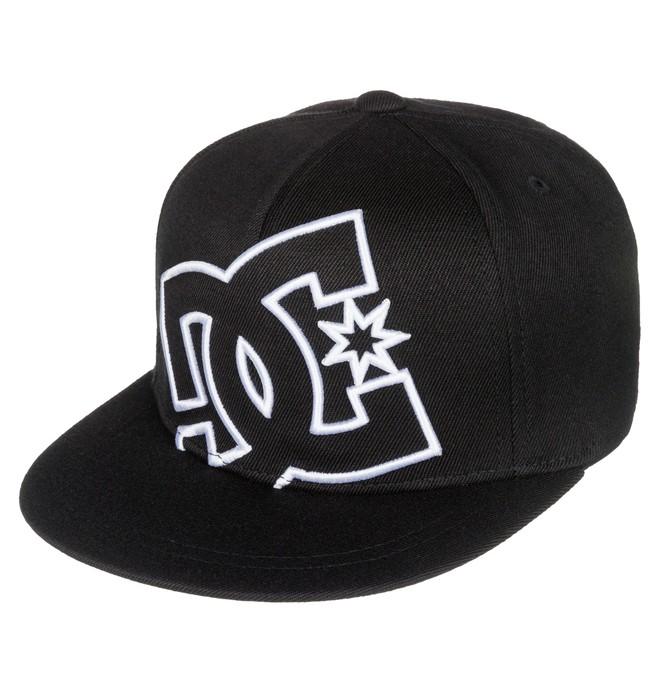 0 Kid's 2-7 Ya Heard Flexfit Hat Black ADKHA03001 DC Shoes