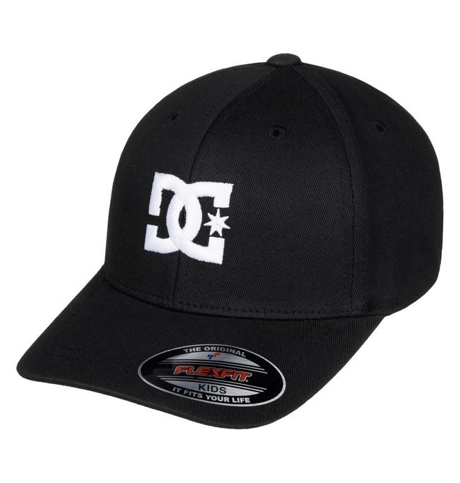 0 Kid's 2-7 Hat Star Flexfit Hat Black ADKHA03002 DC Shoes