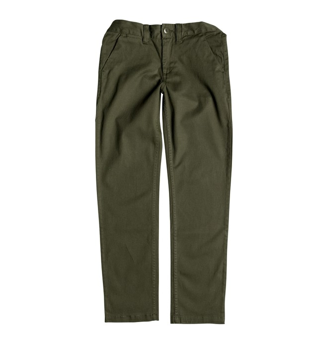 0 Boy's 2-7 Worker Straight Fit Pants  ADKNP03000 DC Shoes