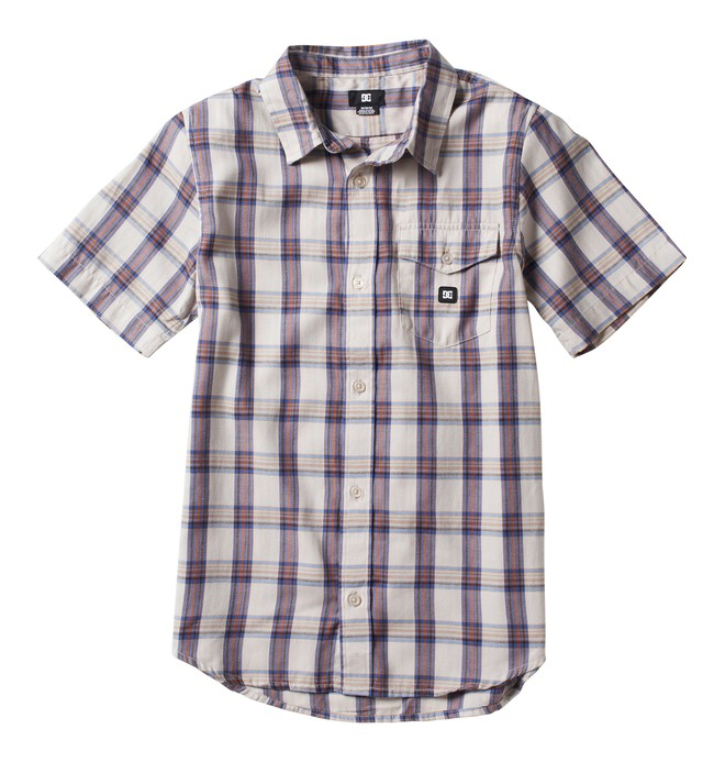 0 Kid's Eschaton Short Sleeve Shirt  ADKWT00001 DC Shoes