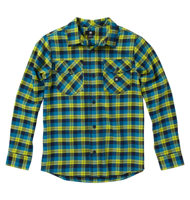 0 Kid's  Long Sleve Flannel Shirt  ADKWT00004 DC Shoes