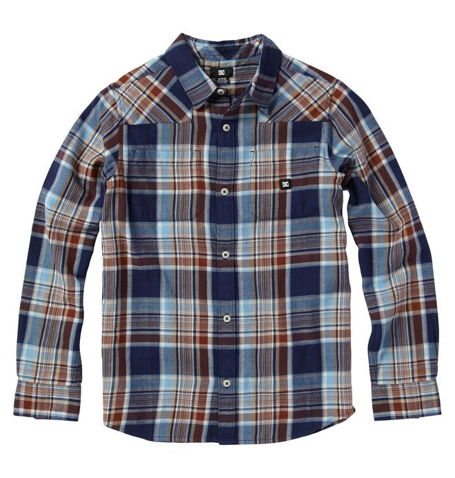 0 Kid's Ziprin Long Sleve Shirt  ADKWT00005 DC Shoes
