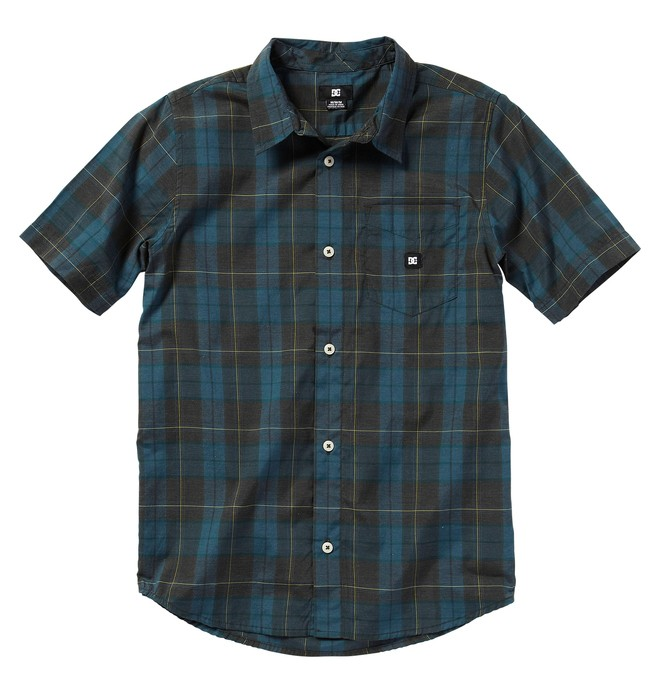 0 Kid's DHARMA SSKD Shirt  ADKWT00006 DC Shoes