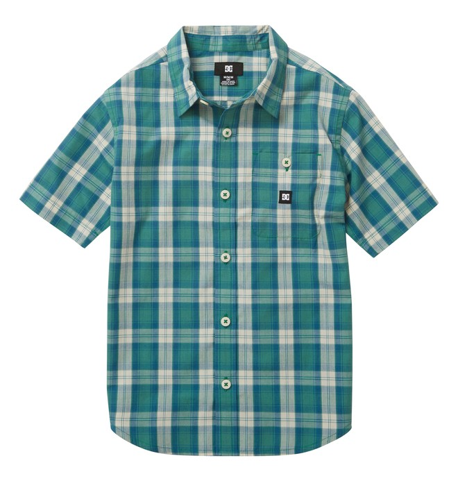 0 kid's Deeps SS Shirt  ADKWT00012 DC Shoes