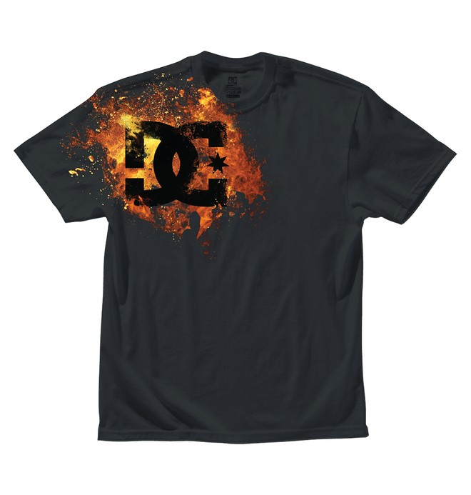 0 Boy's Fiyah Tee  ADKZT00042 DC Shoes