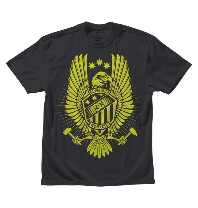 0 Kid's Wing Hammer Tee  ADKZT00102 DC Shoes